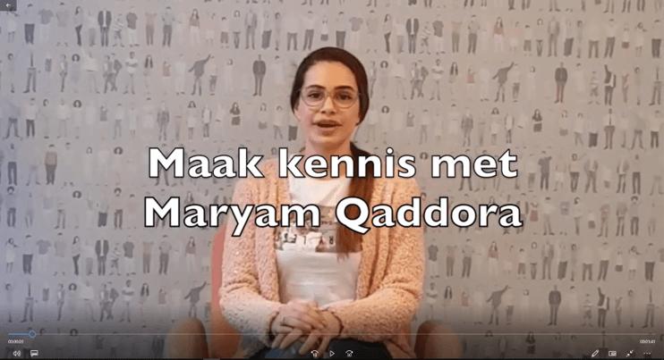 Maryam pitcht voor toelating tot de opleiding Mondzorgkunde aan de HAN!