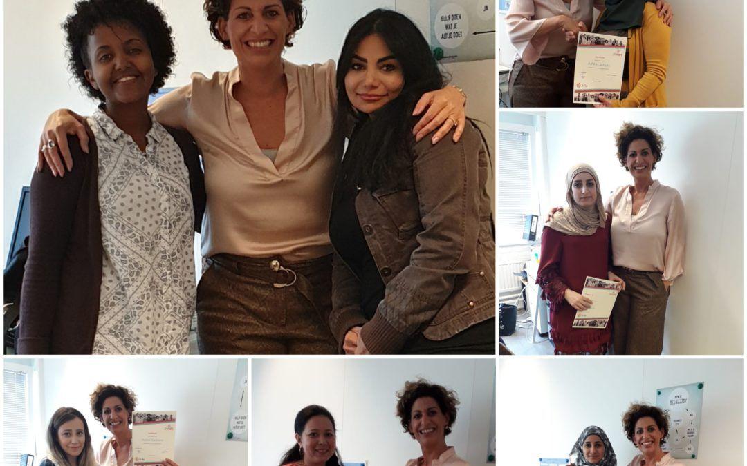 Gemigreerde vrouwen aan het roer van hun eigen leven. Doel bereikt!